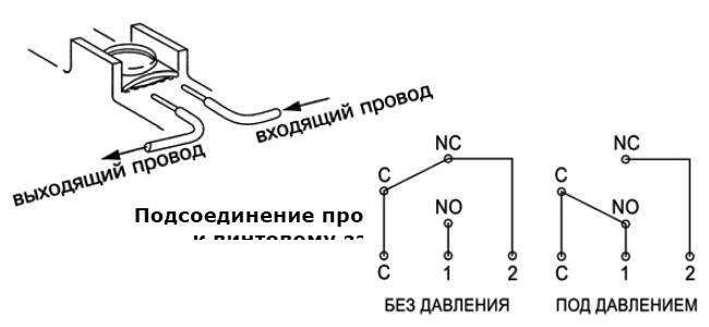 Рис. 2 Схема электрического